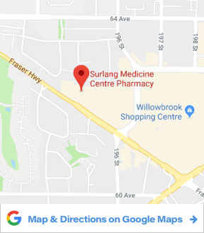 Surlang Pharmacy Map and Directions
